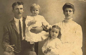 Orville Repass family photo, circa 1920